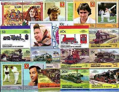 Union Islands 50 timbres différents