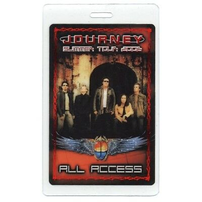 Journey authentic 2006 concert tour Laminated Backstage Pass Def Leppard AA