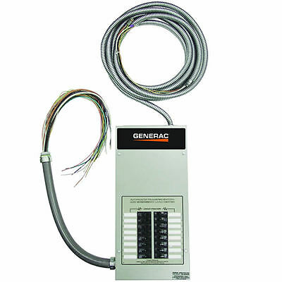 Generac 100-Amp Indoor Automatic Transfer Switch w/ 16-Circuit Load Center