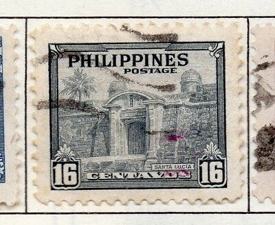Philippines 1946-49 Early Issue Fine Used 16c. 172994