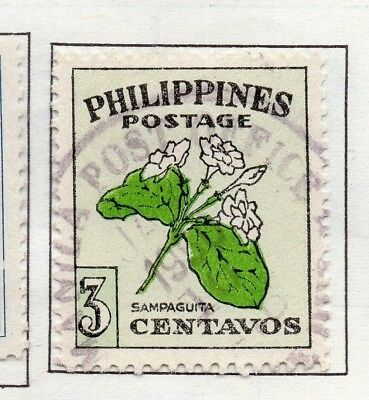 Philippines 1947-49 Early Issue Fine Used 3c. 173011