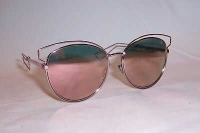 30fc2e1a602c New Christian Dior Sideral 2/S Ja0-0J Pink/Rose Gold Mirror Sunglasses