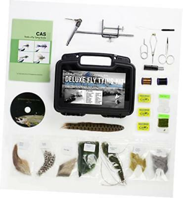 creative angler deluxe fly tying kit for tying flies. our most popular fly tying
