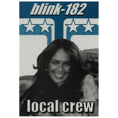 Blink 182 authentic Local Crew 1999-2000 tour Backstage Pass