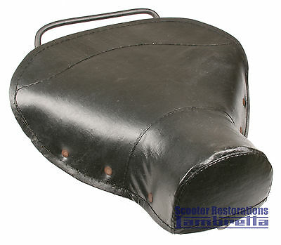 Lambretta Front Single Seat Frame with Seat Cover (LI/TV Series 1, 2 & 3)