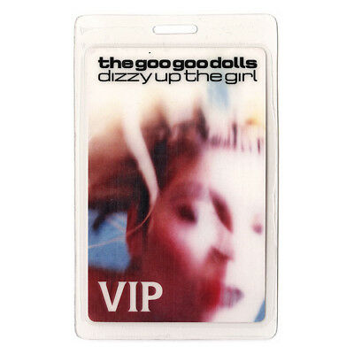 Goo Goo Dolls authentic 1998 Laminated Backstage Pass Dizzy Up the Girl Tour