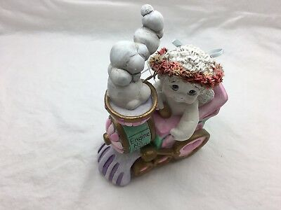 Dreamsicles cherub Get on board angel statue  collectible