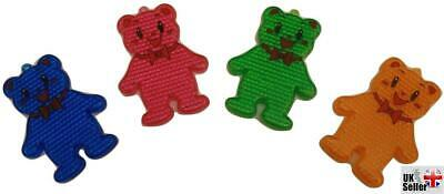 Plastic Teddy Bear Reflectors for Bag / Coat / Safety