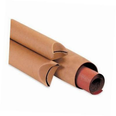 """s4012k spiral wound fibreboard crimped end mailing tube, 12"""" length x 4"""" width,"""