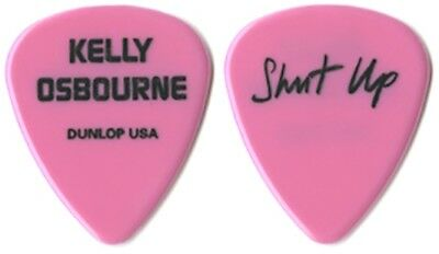 Kelly Osbourne authentic 2003 Shut Up tour custom stage band Guitar Pick OZZY