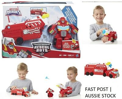 Playskool Heroes Transformers RESCUE BOTS - HEATWAVE Hook and Ladder