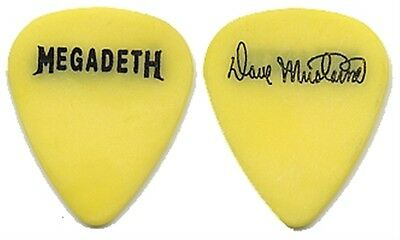 Megadeth Dave Mustaine authentic 2001 World Needs A Hero tour stage Guitar Pick