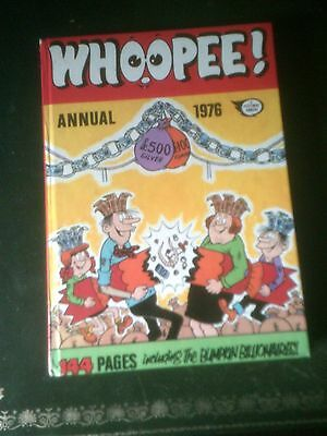 Whoopee! Annual 1976, Published 1975, Vintage Book,