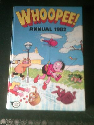 Whoopee! Annual 1982, Published 1981, Vintage Book, Near Mint Condition