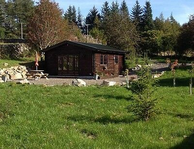 Log Cabin Scotland Holiday/ Short Break/ Cheap Romantic Break- 2 Night Break