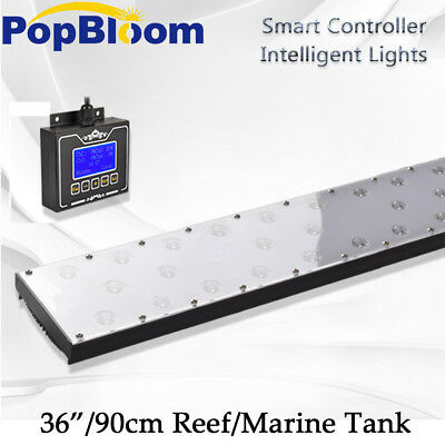 """24""""-96"""" DSunY Dimmable LED Aquarium Reef Light Programmable Coral SPS LPS Marine"""