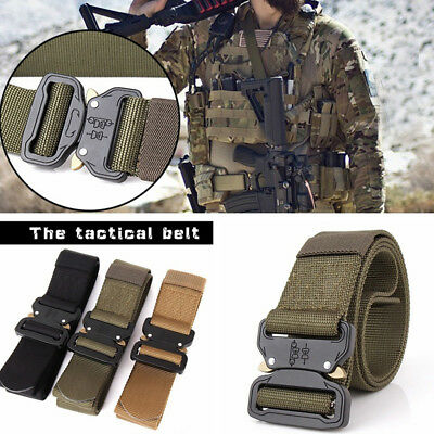 FT- 4.5cm Military Tactical Belt Waistband Outdoor Training Wargame Combat Delux