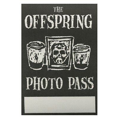 The Offspring authentic concert tour satin Backstage Pass photo black