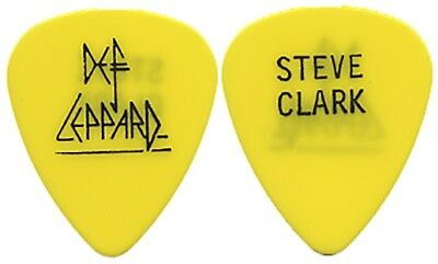 Def Leppard Steve Clark authentic vintage 1989 Hysteria Tour rare Guitar Pick