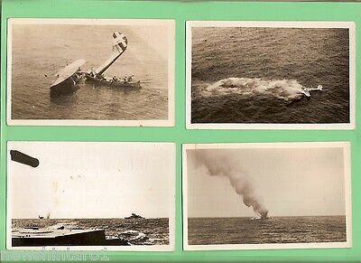 #d75.  12  Military Postcards Related To 1940  Wwii Naval Battle Of Calabria