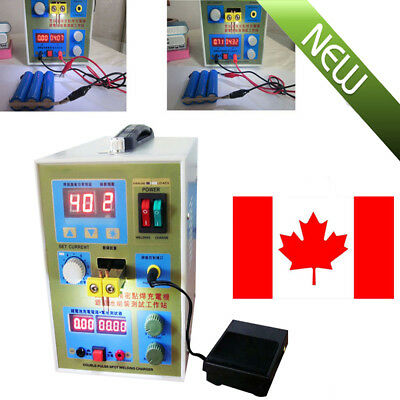 Industrial LED Double-Pulse Spot Welder Welding Tool 18650 Battery Charger 800A