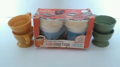 Vintage Solo Cozy Cups New Old Stock