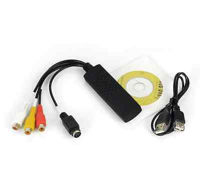 New Device USB2.0 Plug-and-Play Analog Audio Video to Digital PC Capture EasyCap