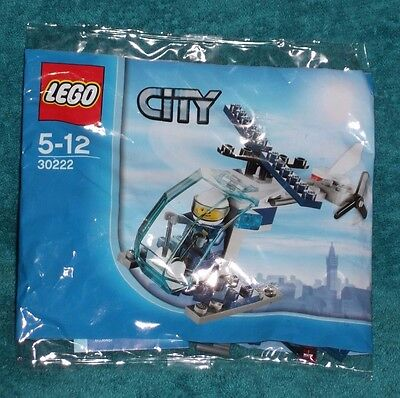 LEGO CITY: Police Helicopter Polybag Set 30222 BNSIP