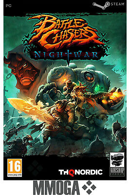 Battle Chasers: Nightwar - PC Spiel Code - STEAM Download Key [RPG][DE][EU]