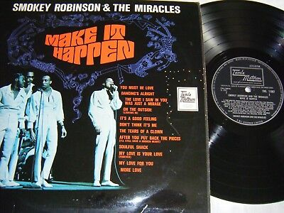 Smokey Robinson And The Miracles - Make It Happen Lp, Org Uk 1St V/g+.
