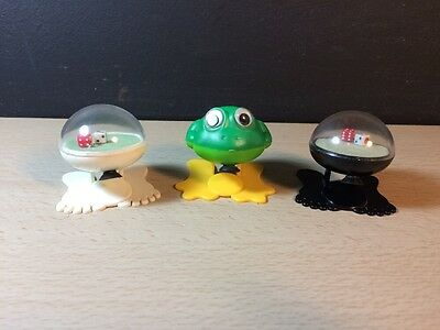 Rare Yoshiyuki Push Jumper Flipper 1981 Dice Frog Hong Kong Suction Cup