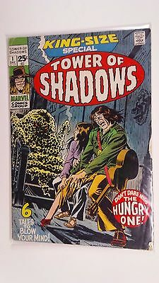 Marvel TOWER OF SHADOWS King Size Special  #1 1971 6 Tales to blow your mind!