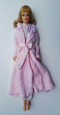 Vintage 1965 Francie Barbie Slumber Party Doll Bendable Legs Real Eyelashes