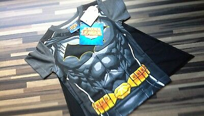 💟baby Boys**next**batman Top With Cape**9-12 Months**bnwt**