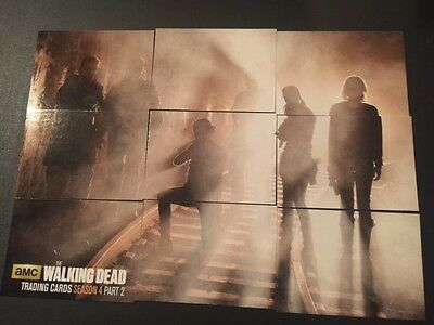 Cryptozoic 2016 WALKING DEAD Season 4 PART 2 REUNION INSERT SET Z1-9