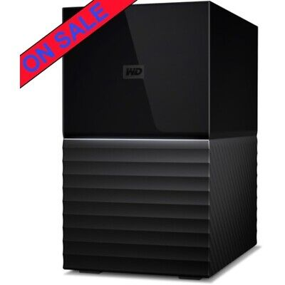 Western Digital My Book DUO Gen 2 20tb DAS Server 2x10000gb WD Red NAS Drives