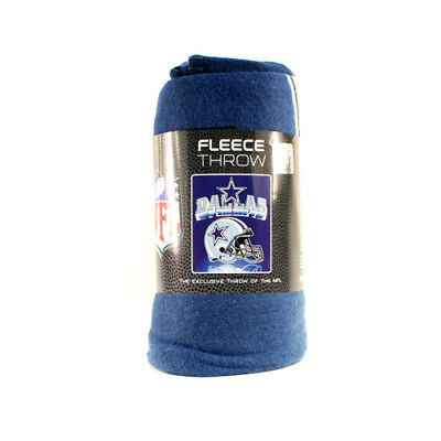 Dallas Cowboys Fleece Throw Blanket, Helmet Design
