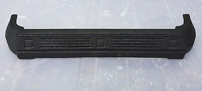 Original Antique Victorian Cast Iron Fireplace Spare Parts: Ash Pan Cover