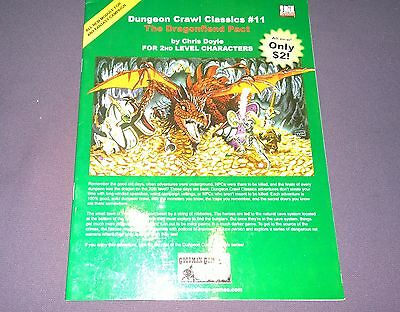 Dungeons & Dragons Dungeon Crawl Classic #II The Dragon Fiend Pact d20