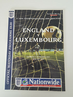 England Luxembourg Programme