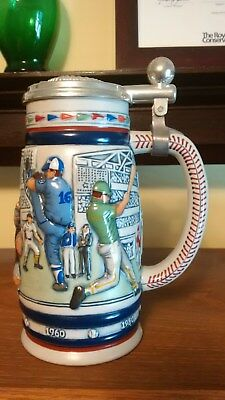 Vintage 1985 Avon Great American Baseball Ceramic Beer Stein