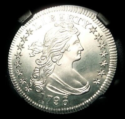 1796 Draped Bust Silver Quarter Dollar Gallery Mint Museum