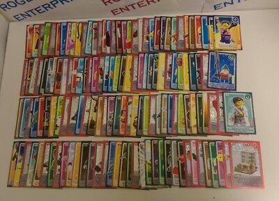 Full Complete Set of Sainsbury's Lego Create The World Cards All cards 1-140