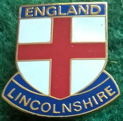 England Lincolnshire Pin Badge