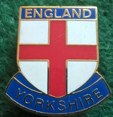 England Yorkshire Pin Badge
