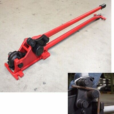"5/8"" Manual Rebar Cutter & Rebar Bender 50"" Long Handle big Leverage 90° & 180°"