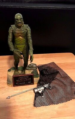"""1999 Sideshow CREATURE FROM BLACK LAGOON 8"""" Figure - Loose w/accessories"""