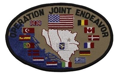 OPERATION ALLIED FORCE Kosovo Patch Kfor The Balkans Nato