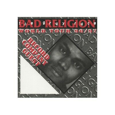 Bad Religion authentic Record Company Guest 1996 tour Backstage Pass