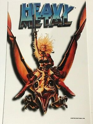 Heavy Metal The Movie 1996 Limited Edition Cell RARE!